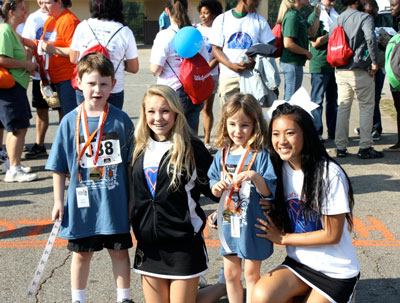 kids at race for autism